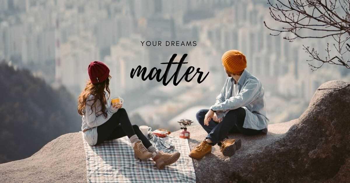 your dreams metter InBooming Blog